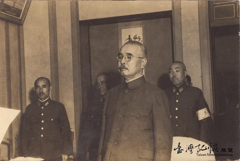 臺灣總督安藤利吉以戰犯罪名被捕